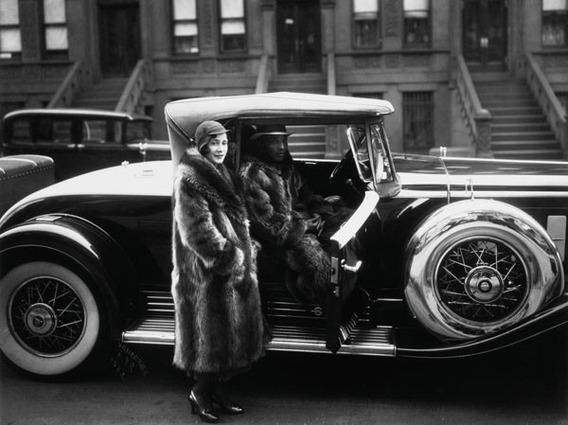 Couple In New York, 1932, James Van Der Zee, Lamina 30 X 40