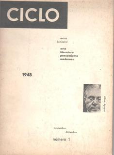 Tomás Maldonado - Aldo Pellegrini / Revista Ciclo Nº1 (1948)