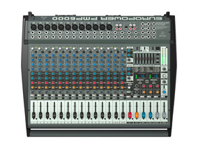 Mesa Behringer Europower Pmp6000 Na Cheiro De Música Loja