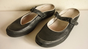 Chalas Mujer Timberland Comfort System Talla 40 100% Cuero