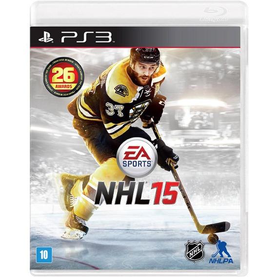 Jogo Nhl 15 Ps3 - Playstation 3 - Original Lacrado