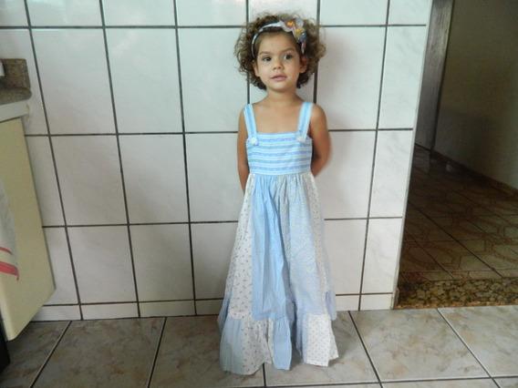 Vestido Infantil 4 A 5 Anos