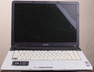 Laptop Sony Vaio Vgn-fs750f Completa Para Partes