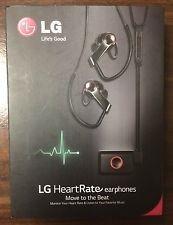 Lg Heartrate Earphones Black Fr74