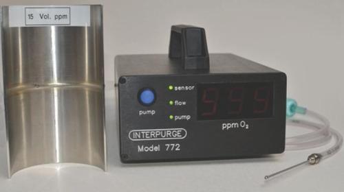 Imagen 1 de 5 de Interpurg Medidor Sensor Oxigeno Atmosferico Rango 0-999 Ppm