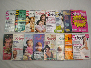 Lote Sortido Com 16 Revistas Seleções Do Reader´s Digest