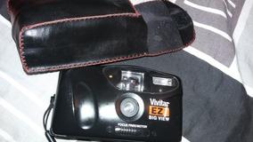 Câmera Fotográfica Antiga Anos 80 Sem Filme Vivitar 35mm