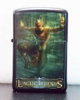 Fosforera De League Of Leagends Tipo Zippo