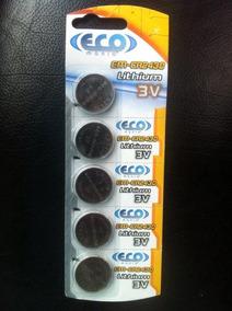 Bateria Ecomania Em-cr2430 Lithium 3v 10 Cartelas C/ 5pcs