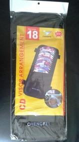 Porta Cd De 18 Discos Para Vehiculos (color Negro)