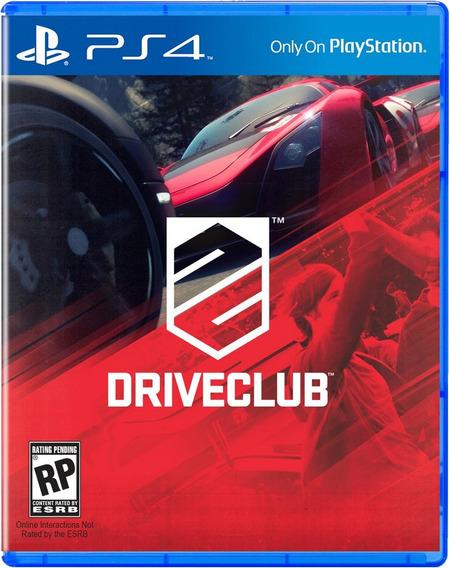Driveclub, Play 4 , Português Codigo Psn !!!