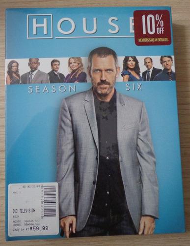 House - Season Six - Importado E Lacrado - Reg. 1