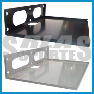 Soporte Estante Bandeja 30x20 Cm Dvd Home Theater Cd Deco Tv