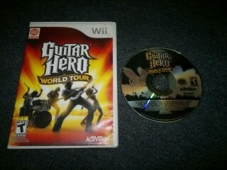 Guitar Hero World Tour Para Nintendo Wii,excelente Titulo