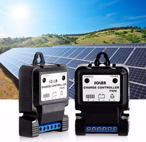 Controlador/carga De Painel Solar - 3a - 12v Pwm