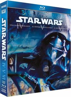 Star Wars Episodios Iv, V, Vi Peliculas Bluray