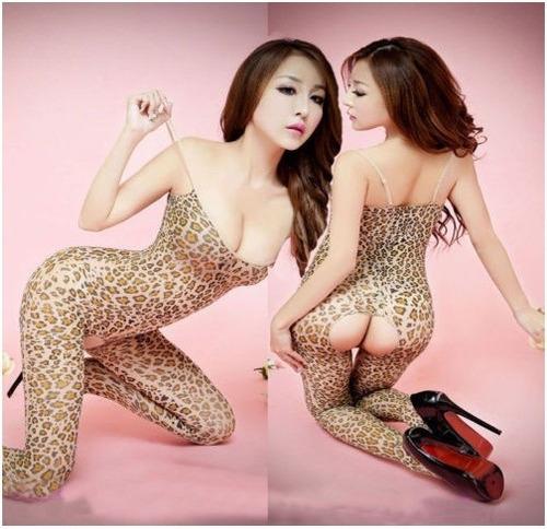Lenceria Sexy Catsuit De Red - Modelo Tigresa - Exclusivo