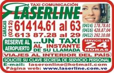 Taxi Laserline,servicio De Taxi Las 24 Horas En Caracas