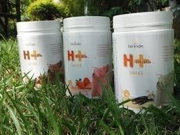 Shake H+ 550g - Hinode - Morango, Baunilha Ou Chocolate