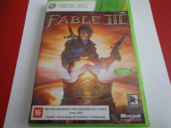 Jogo Fable 3 Original Xbox 360