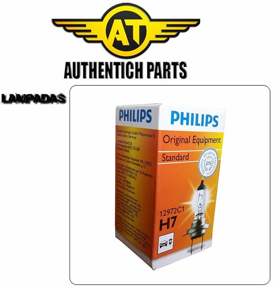 Lampada Philips Standard H7 Audi A3 1.6 8v 99 A 05 - Lampada Do Farol Baixo