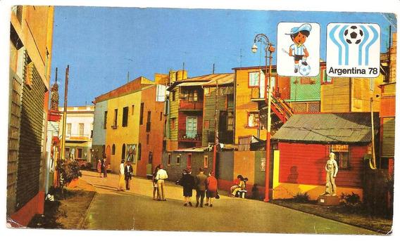 Cartão Postal Copa 78 - Original - Único No Mlivre