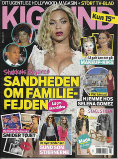 Revista Kigind: Beyoncé / Nicholas Hoult / Lady Gaga / Perry