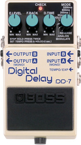 Pedal Dd7 Boss Digital Delay Loop Reverse + Nf