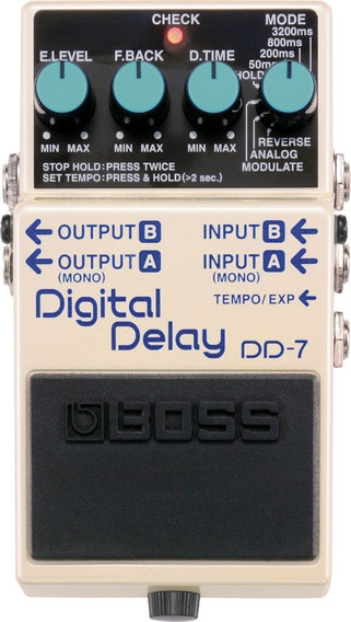Pedal Boss Dd-7 Dd7 Digital Delay Pedal Para Guitarra