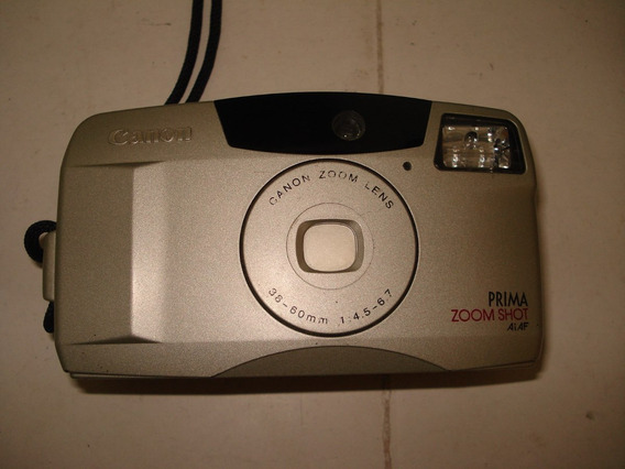 Câmera Fotográfica Antiga - Canon - Prima -