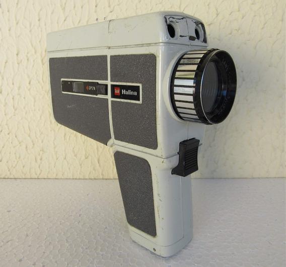Antiga Filmadora Super 8 Halina Para Restauro Ou Decoração