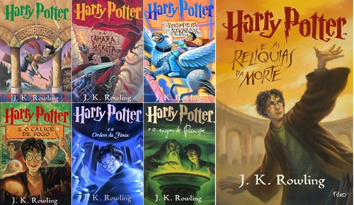 Download Harry Potter Livros Capas Originais