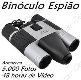 Binóculo Espião Original 5.000 Fotos - Vídeo 48 Horas