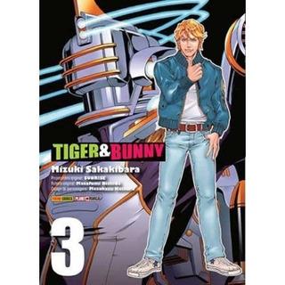 Tiger & Bunny 3! Mangá Panini! Lacrado!