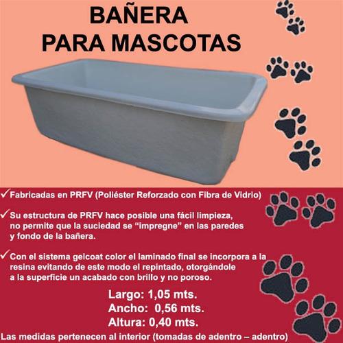 Imagen 1 de 1 de Bañera Para Perros Y Gatos