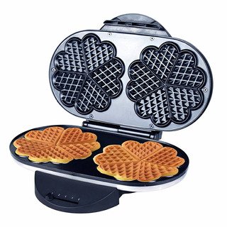 Zz Wf330 10 In 1 Heart Waffle Maker With Non-stick Plate 120