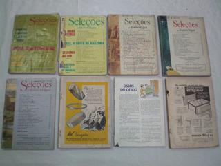 Lote 8 Revistas Seleções Do Reader´s Digest 1966 1982 1975