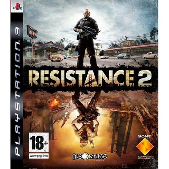 Jogo Resistance 2 Ps3 Play 3 - #frete Grátis #