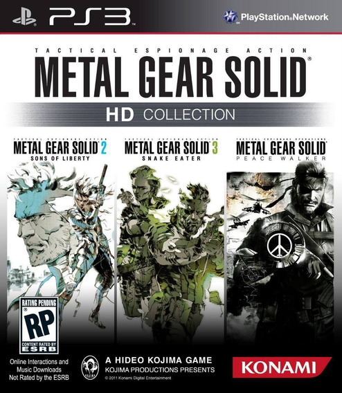 Metal Gear Solid Hd Collection - #frete Grátis #