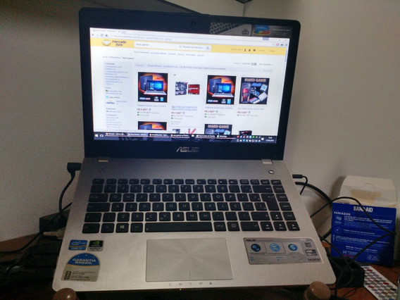 Note Gamer Asus N46vm I7 16gb Gt630m 2gb Ssd