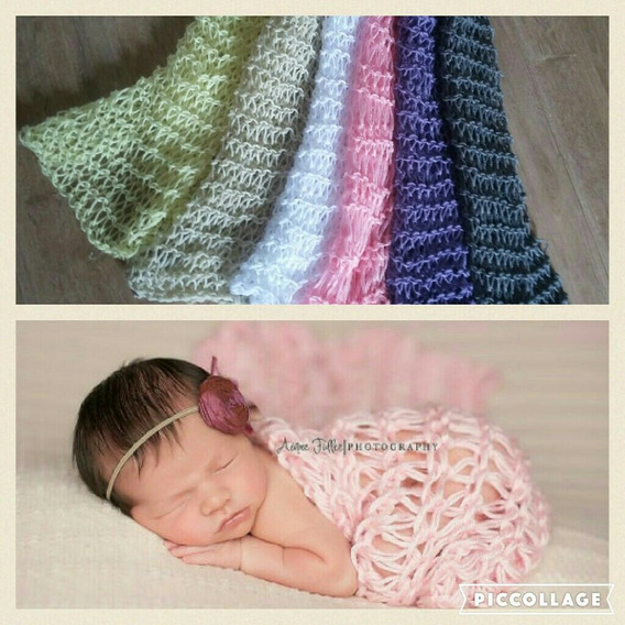 Manta Para Fotografia Bebê - Newborn Acessórios