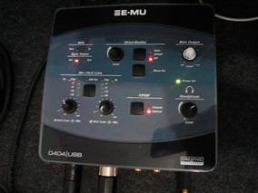 Interface Emu 0404 24bits/192khz ,s/pdif E Coaxial R$780,00