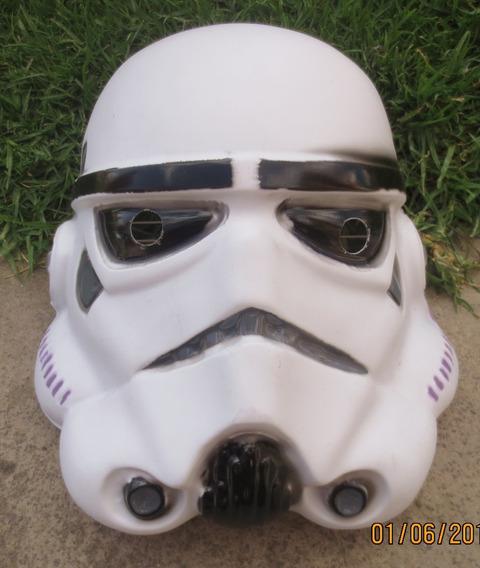 Vintage Rara Y Bonita Mascara De Star Wars Stormtrooper!