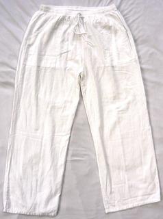 Pantalón Elástico De Manta