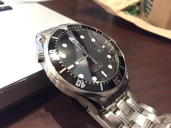 Reloj Omega Seamaster 300 M Quartz 41mm Black Dial