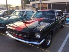 Mustang 1965 Placa Preta