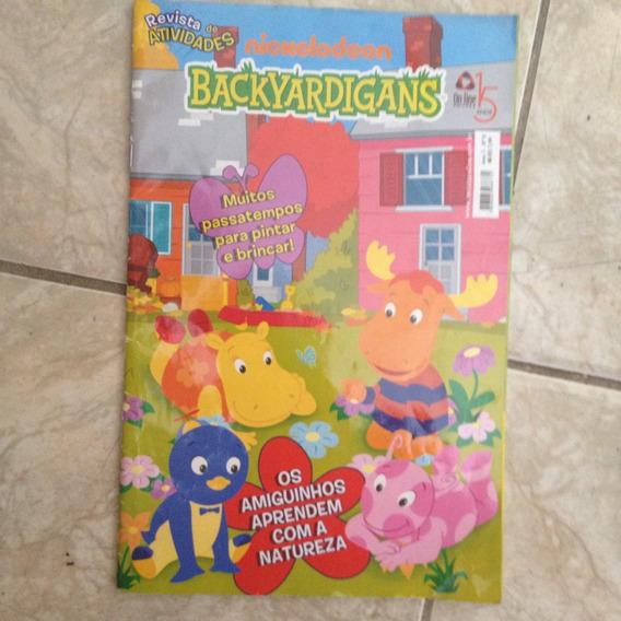 Revista De Atividades Nickelodeon Backyardigans N8 Exercício