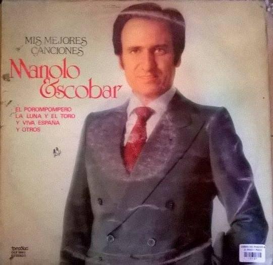 Disco Vinilo Manolo Escobar Mis Mejores Canciones
