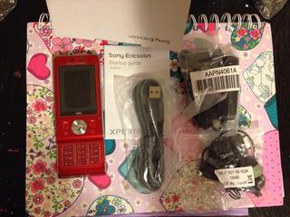 Pedido: Sony Ericsson W910 Libre Fabrica Rojo