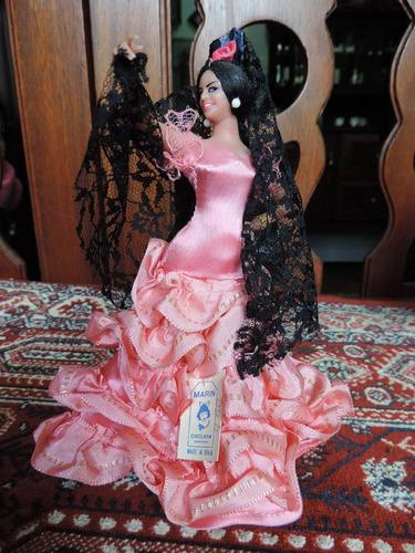 Boneca Espanhola Marin Chiclana 19cm X 16cm #3777